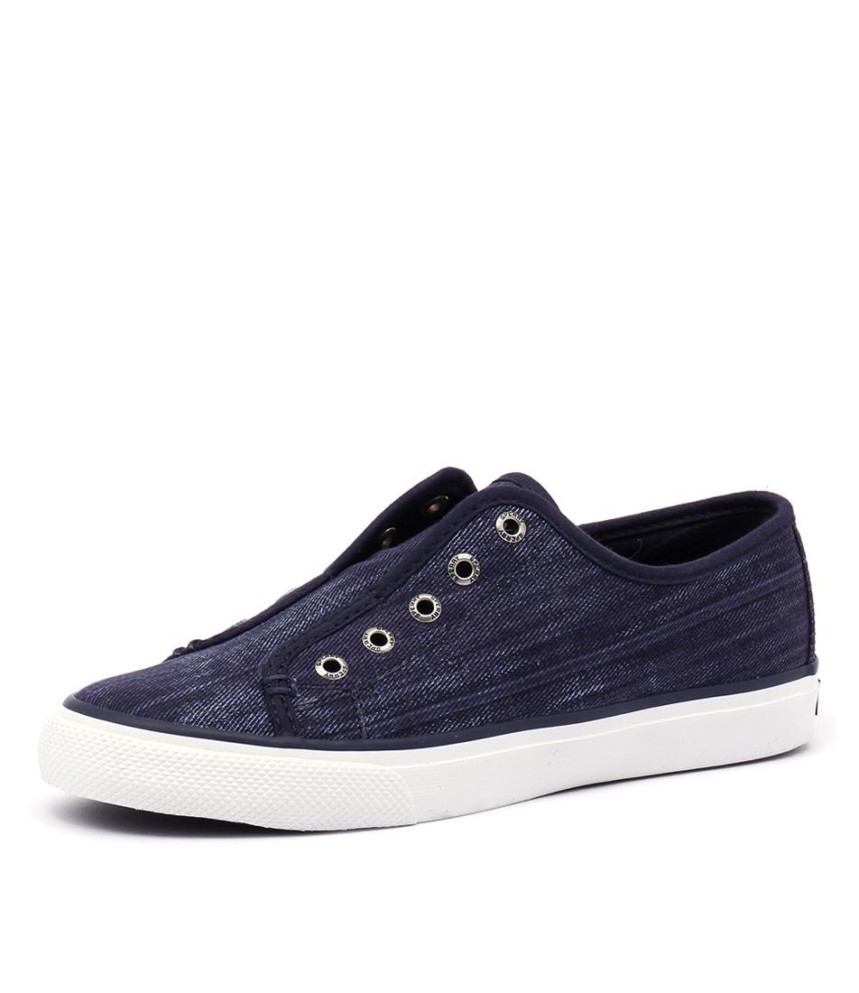 Sperry Seacoast Ripstop Canvas Dark Blue Sneakers