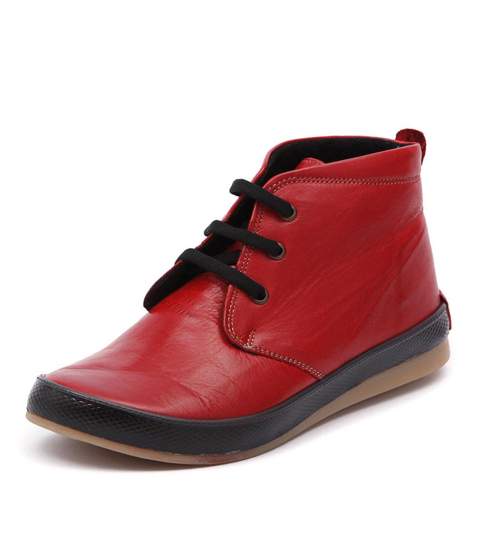 Stegmann Usher Red Boots