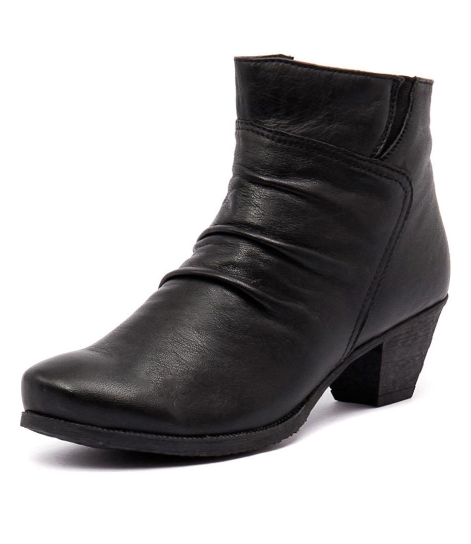 Stegmann Harper Black-Black Boots