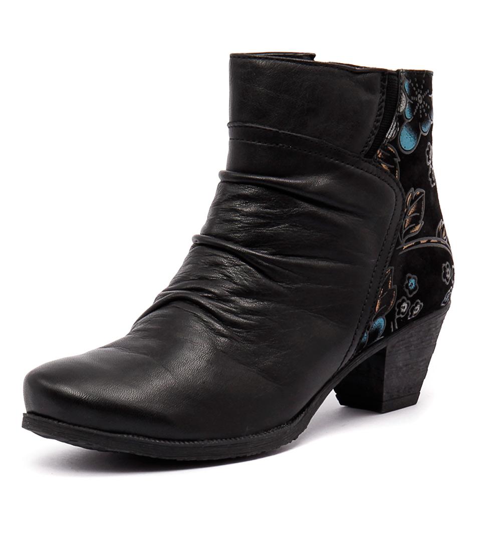 Stegmann Harper Black-Black Garden Boots