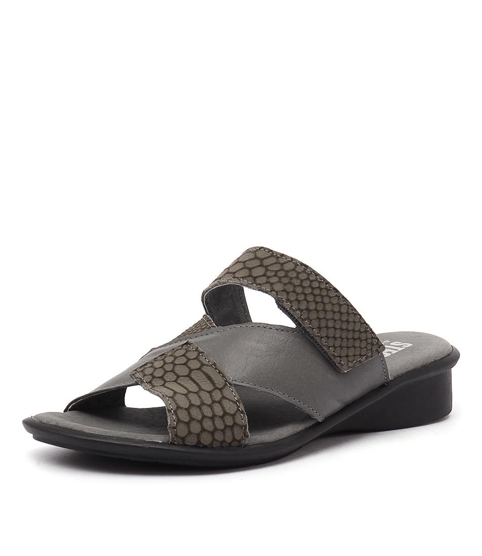 Stegmann Nate Grey Sandals