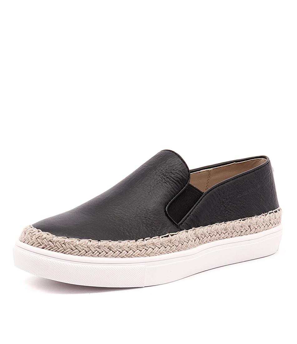 Steve Madden Sailor Black Loafers & Slip-Ons