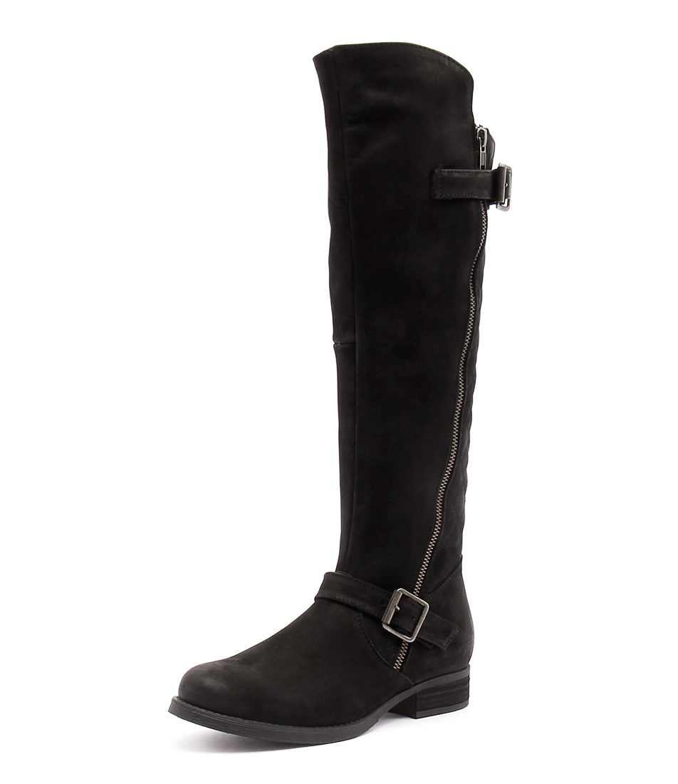 Steve Madden Northern Black Boots