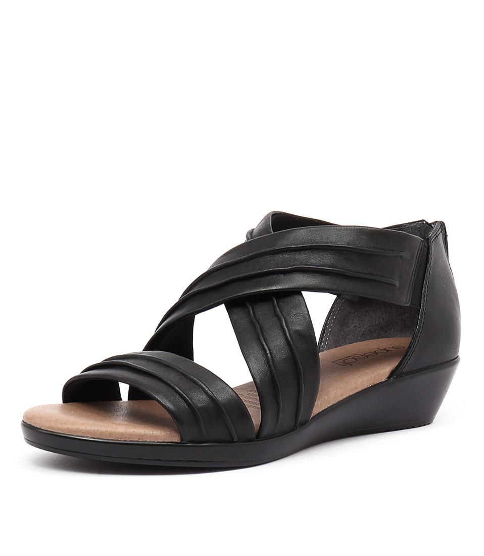 Supersoft by Diana Ferrari Vora Black Sandals online