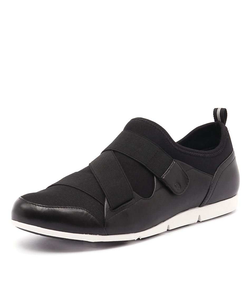 Supersoft by Diana Ferrari Gravity Black Sneakers