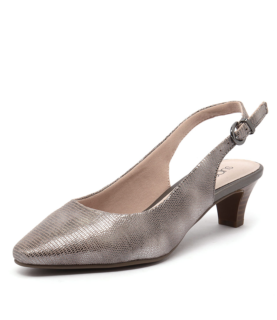 Supersoft by Diana Ferrari Linden 2 Silver Multi Dress Pumps