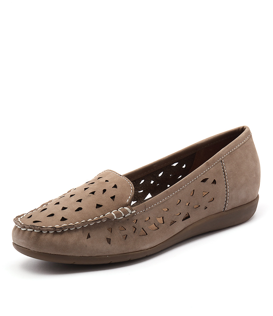 Supersoft by Diana Ferrari Foxton Oatmeal Nappa Loafers online