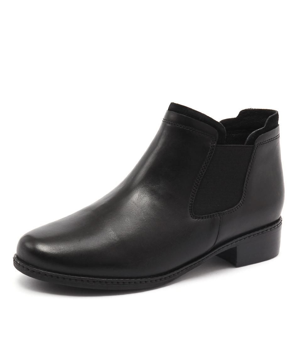 Supersoft by Diana Ferrari Parris Black Boots