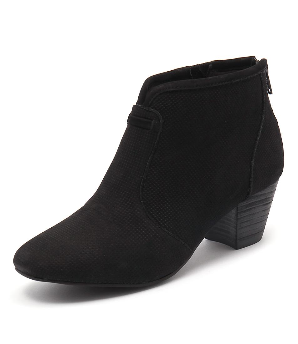 Supersoft by Diana Ferrari Hula Black Nappa Boots