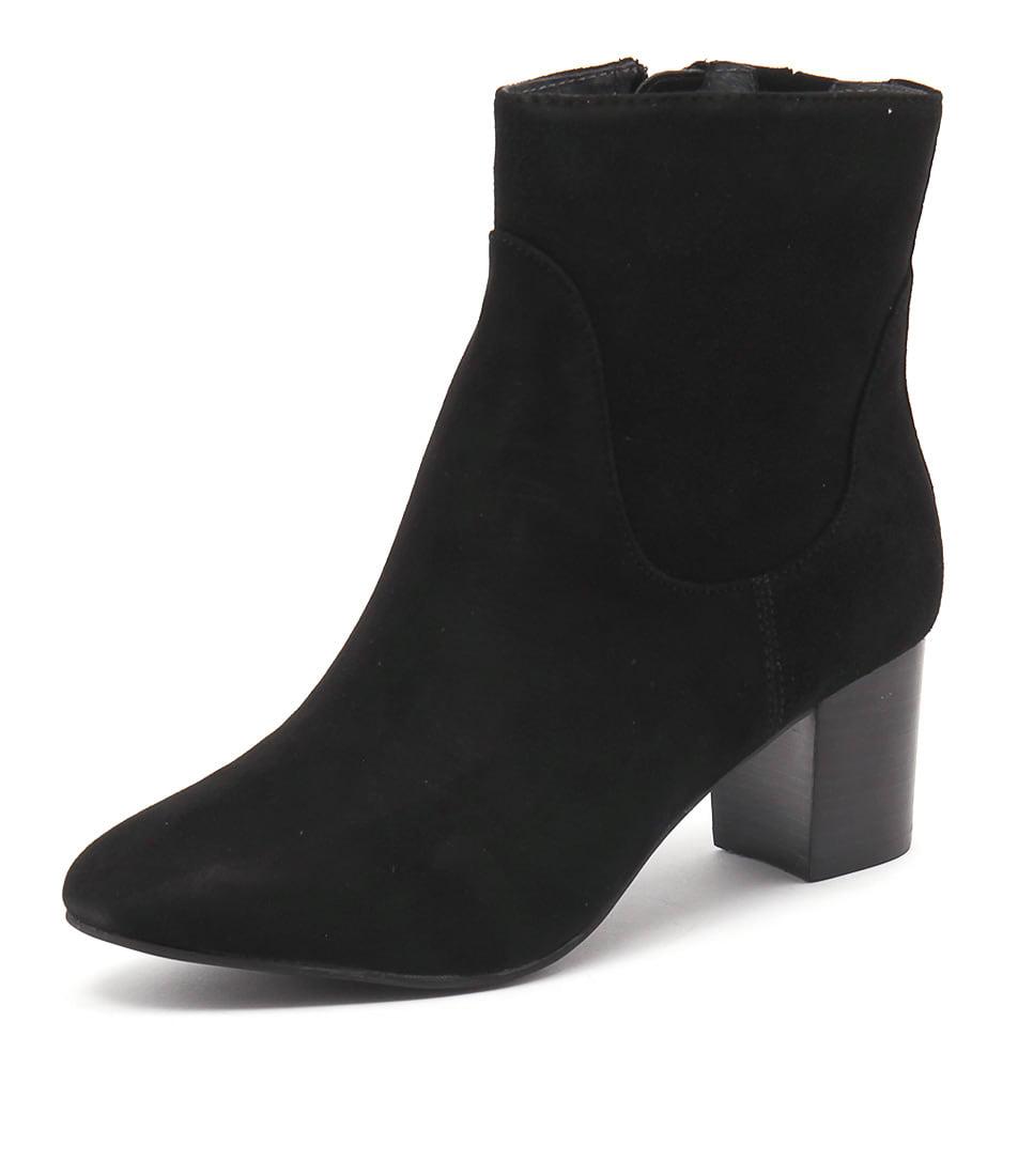 Supersoft by Diana Ferrari Bazaar Black Suede Boots