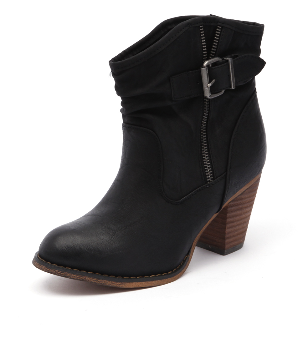Therapy Oxford Black Boots