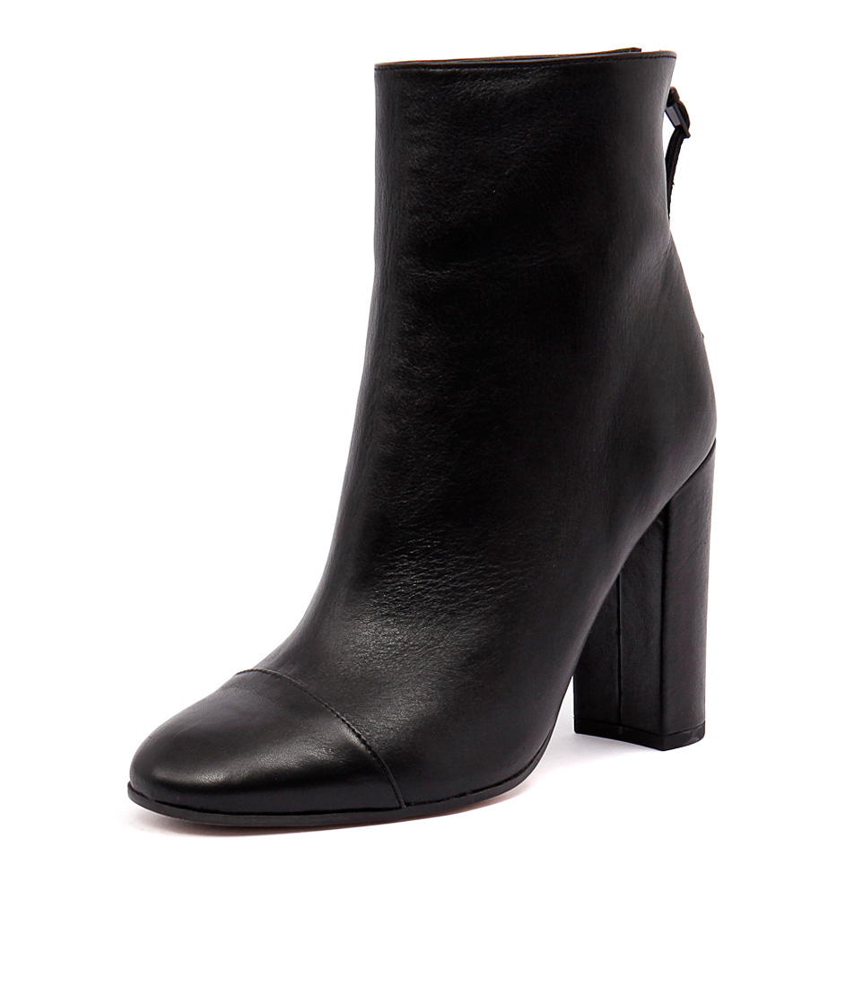 Tony Bianco Brando Black Luxe Boots