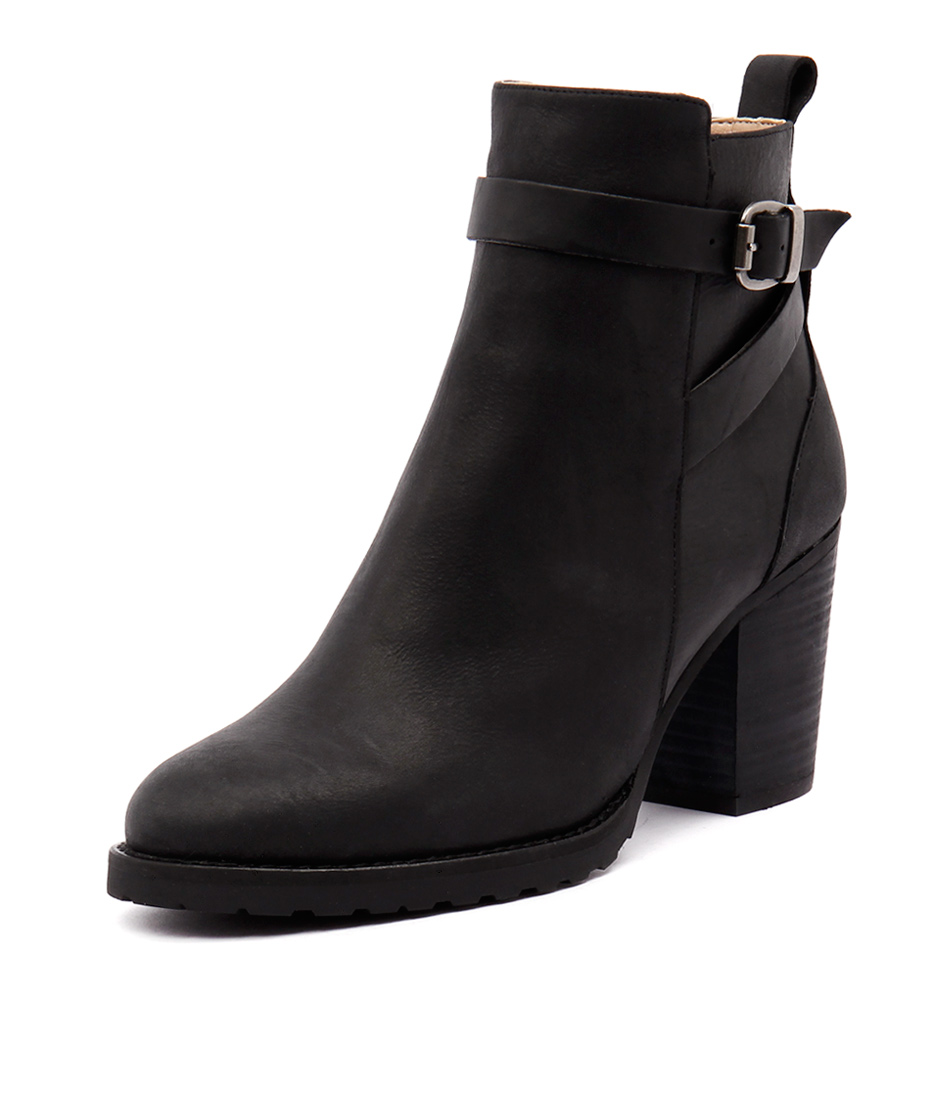 Tony Bianco Thorley Black Diesel-Black Wax Boots online