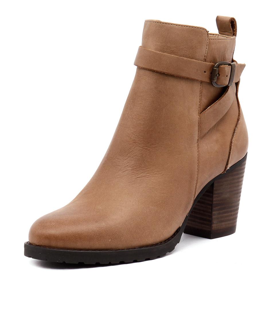 Tony Bianco Thorley Rust Diesel-Choc Wax Boots online