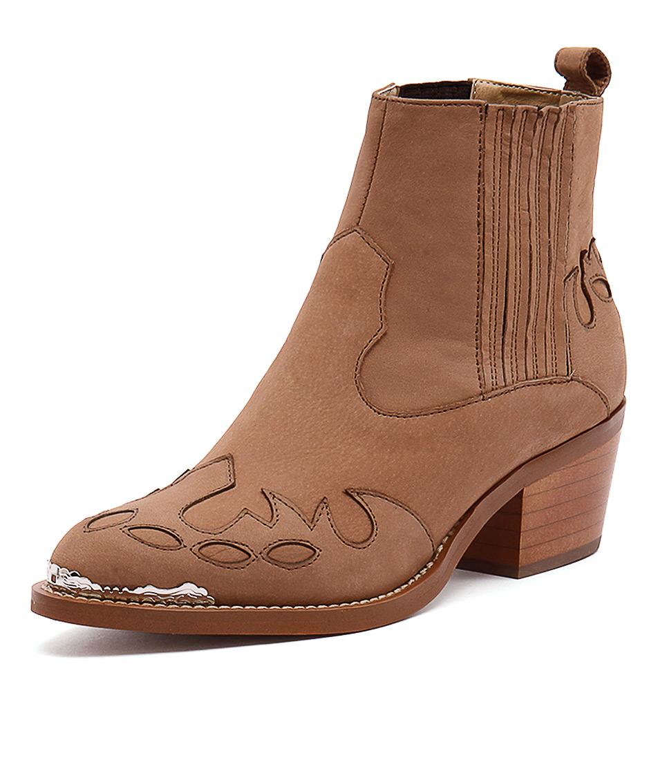 Tony Bianco Frolic Caramel Phoenix Boots