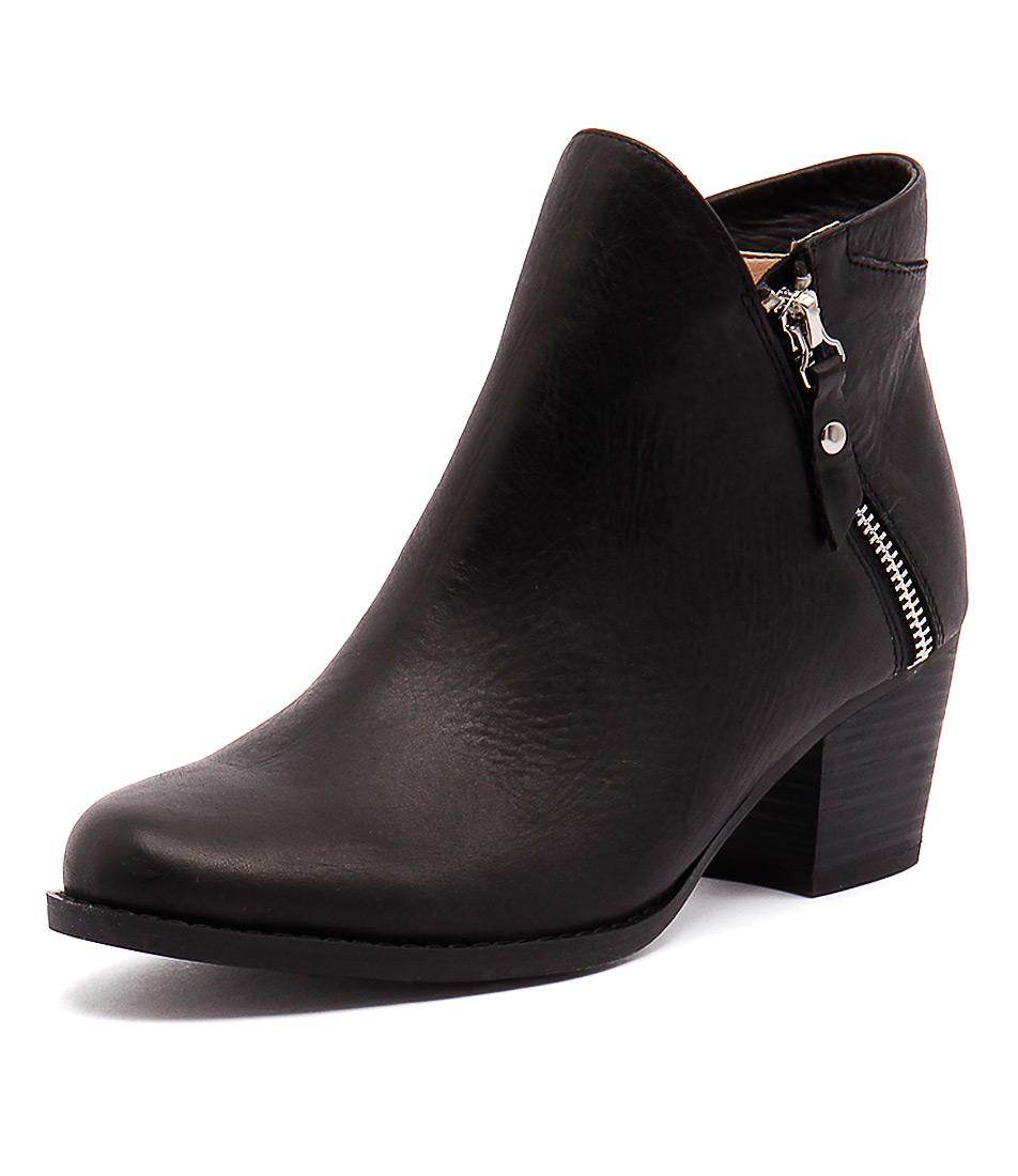 Tony Bianco Dejar Black Diesel-Black Wax Boots online