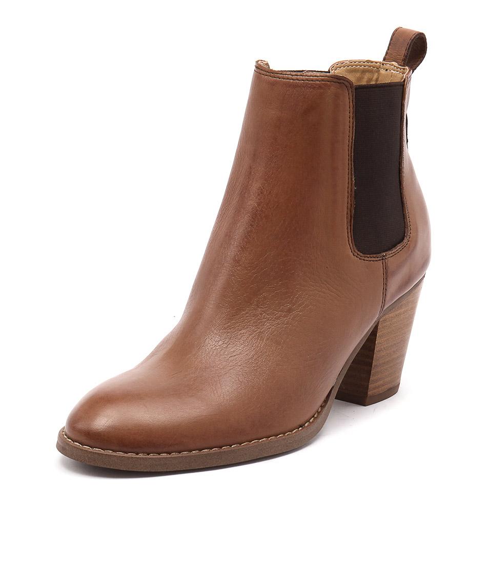 Tony Bianco London Tan Albany Boots