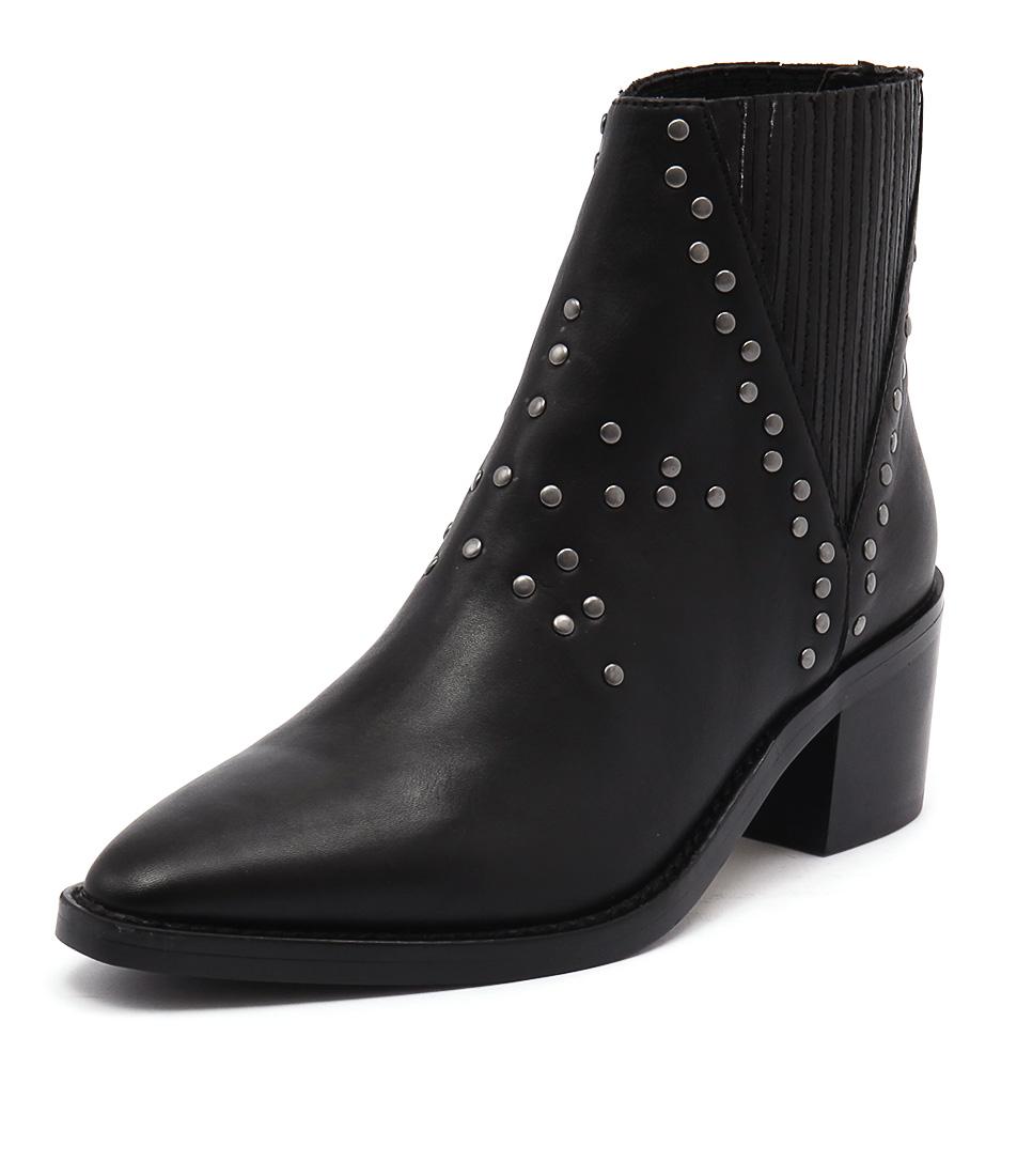 Tony Bianco Simbai Black Albany Boots online