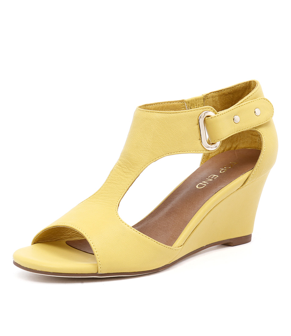 Top End Unico Light Yellow Sandals online