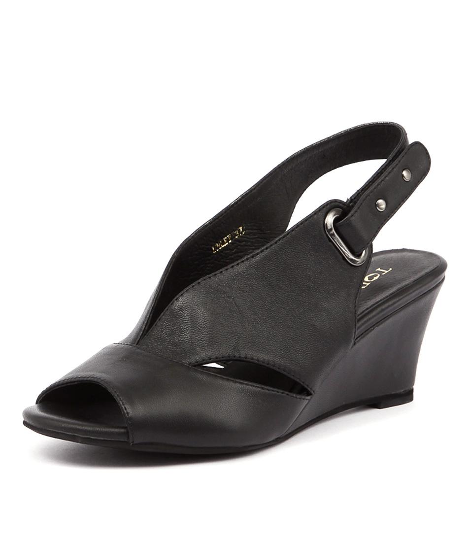 Top End Unley Black Sandals