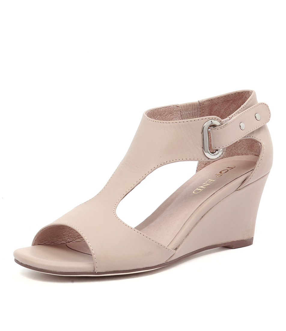 Top End Unico Nude Sandals