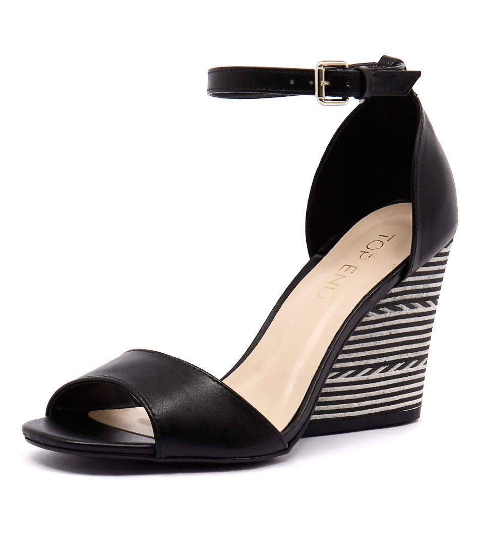 Top End Nele Preto Black Sandals online