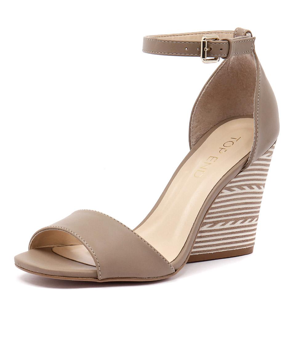 Top End Nele Juta Taupe Sandals