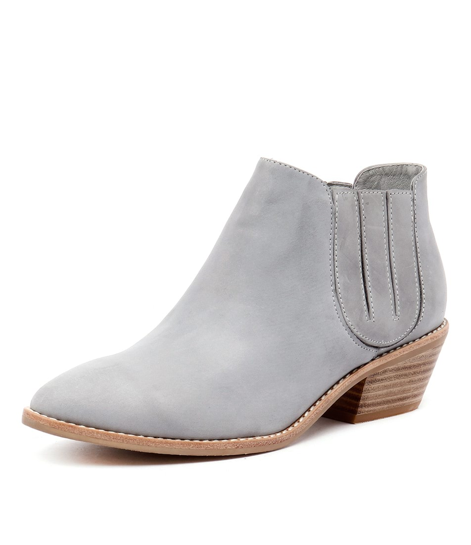 Top End Candini Denim Leather Boots