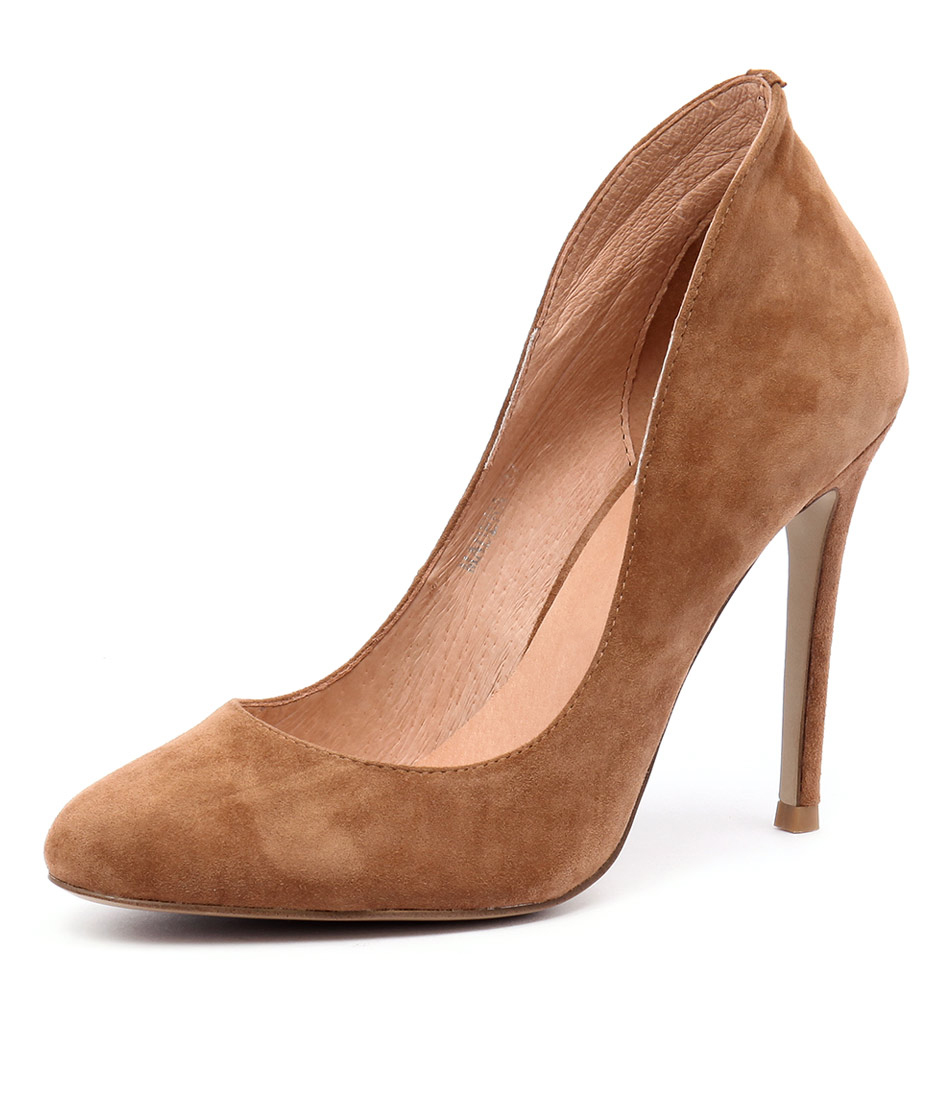 Top End Madera Tan Suede Dress Pumps