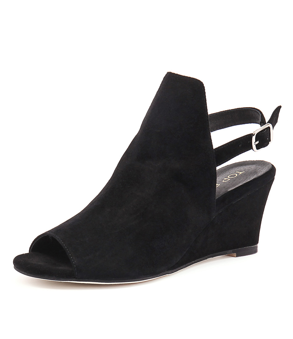 Top End Ugoo Black Suede Shoes