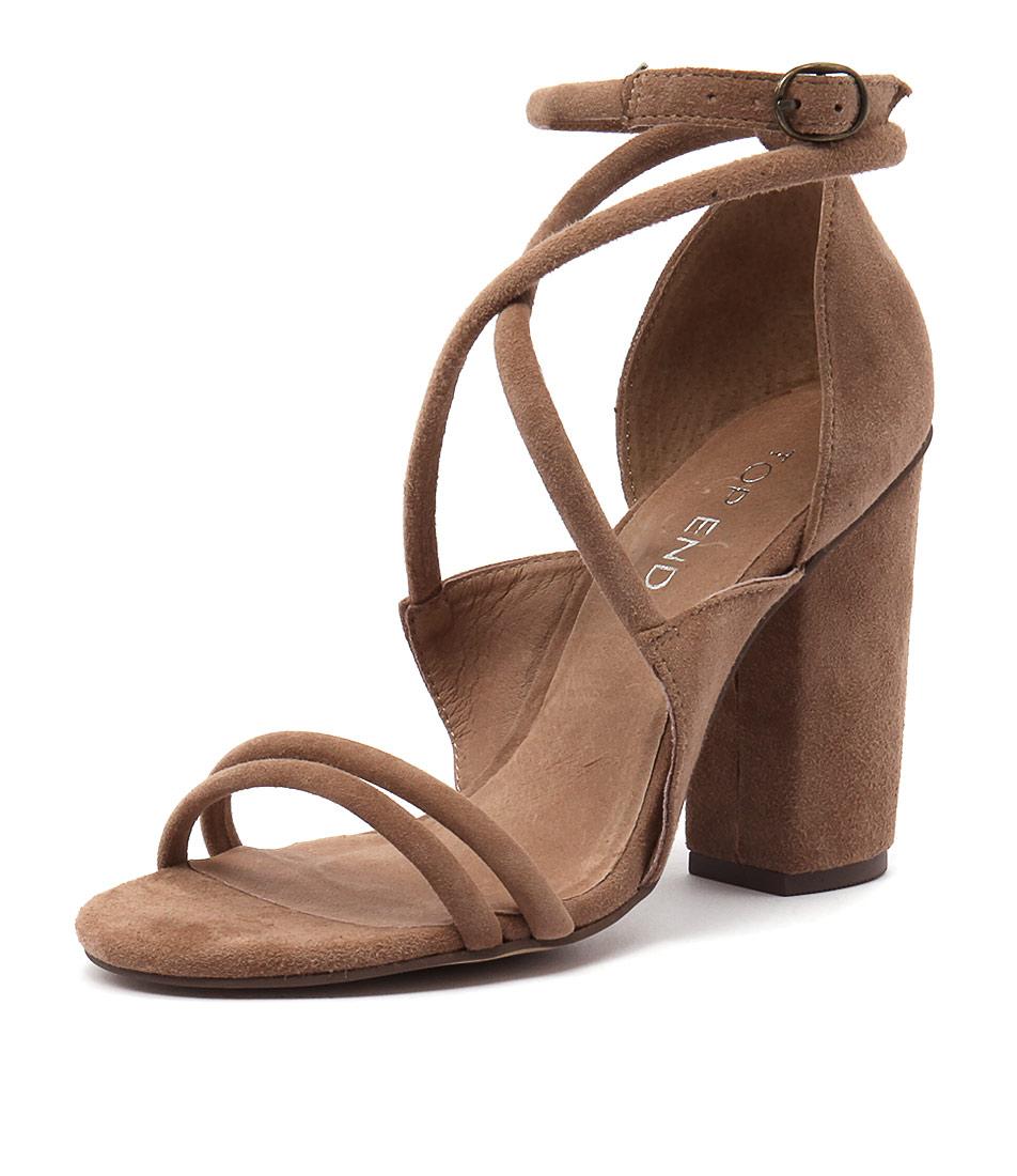 Top End Wobble Cappucino Sandals