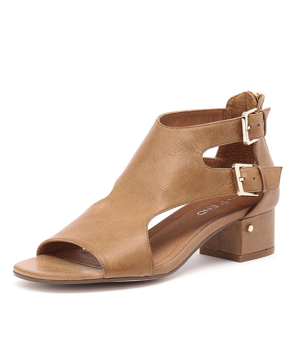 Top End Golden Tan Sandals