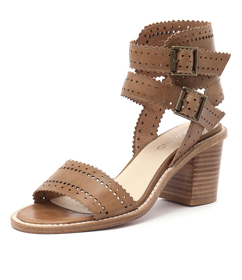Top End Nopple Tan Sandals online