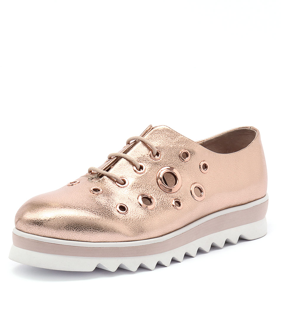Top End Onyx Rose Gold Sneakers