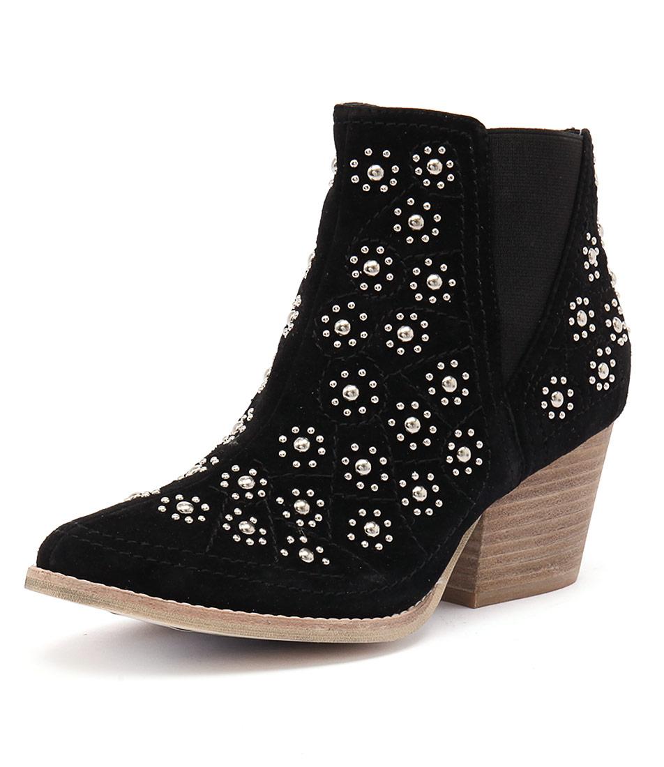 Top End Wando Black Boots
