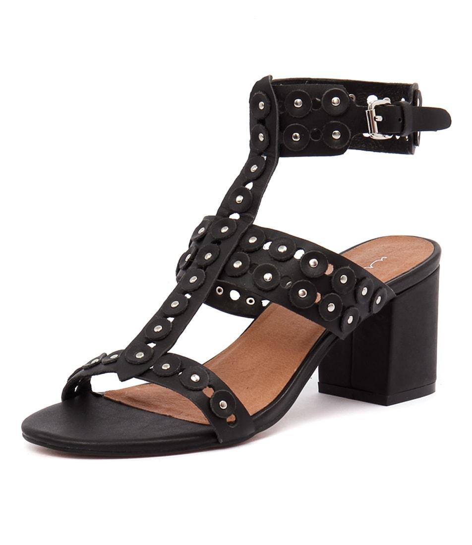 Urge Alana Black Sandals