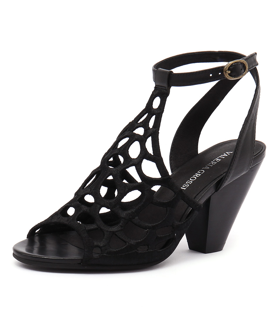 Valeria Grossi Malin Black Sandals online