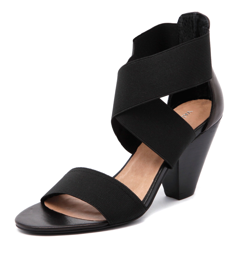 Valeria Grossi Macklin Black Sandals