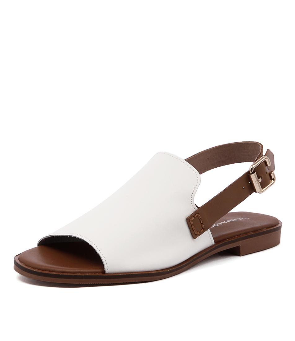 Valeria Grossi Jojo White Sandals