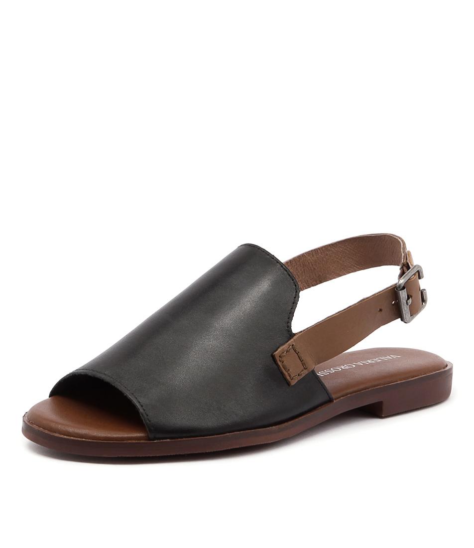 Valeria Grossi Jojo Black Sandals