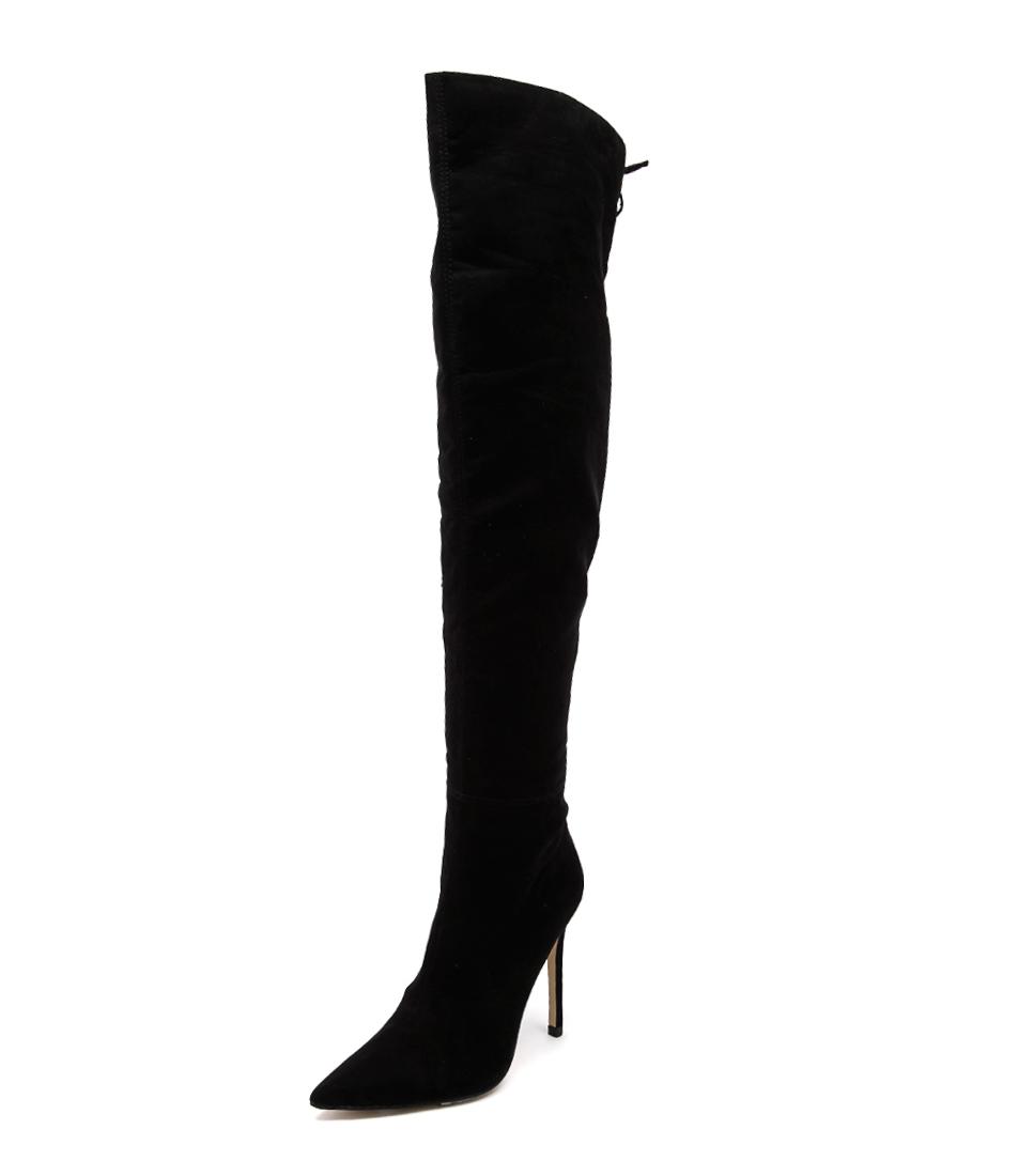 Verali Hayley Black Micro Boots