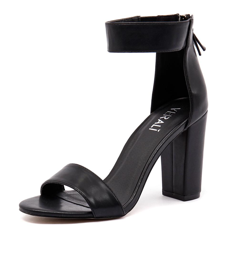Verali Carlo Black Sandals
