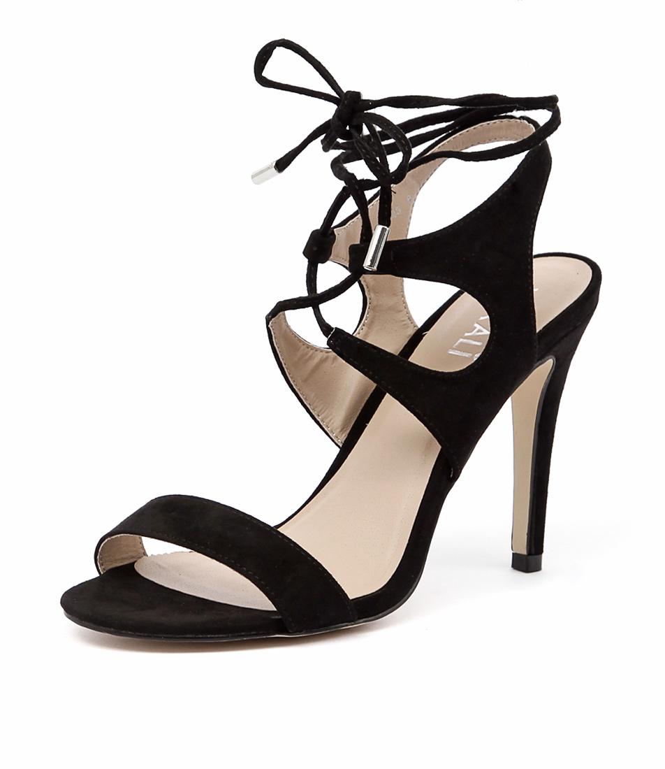 Verali Owen Black Sandals