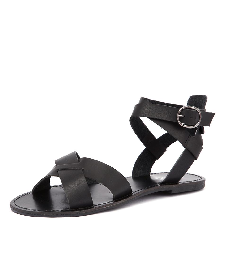 Verali Tina Black Sandals