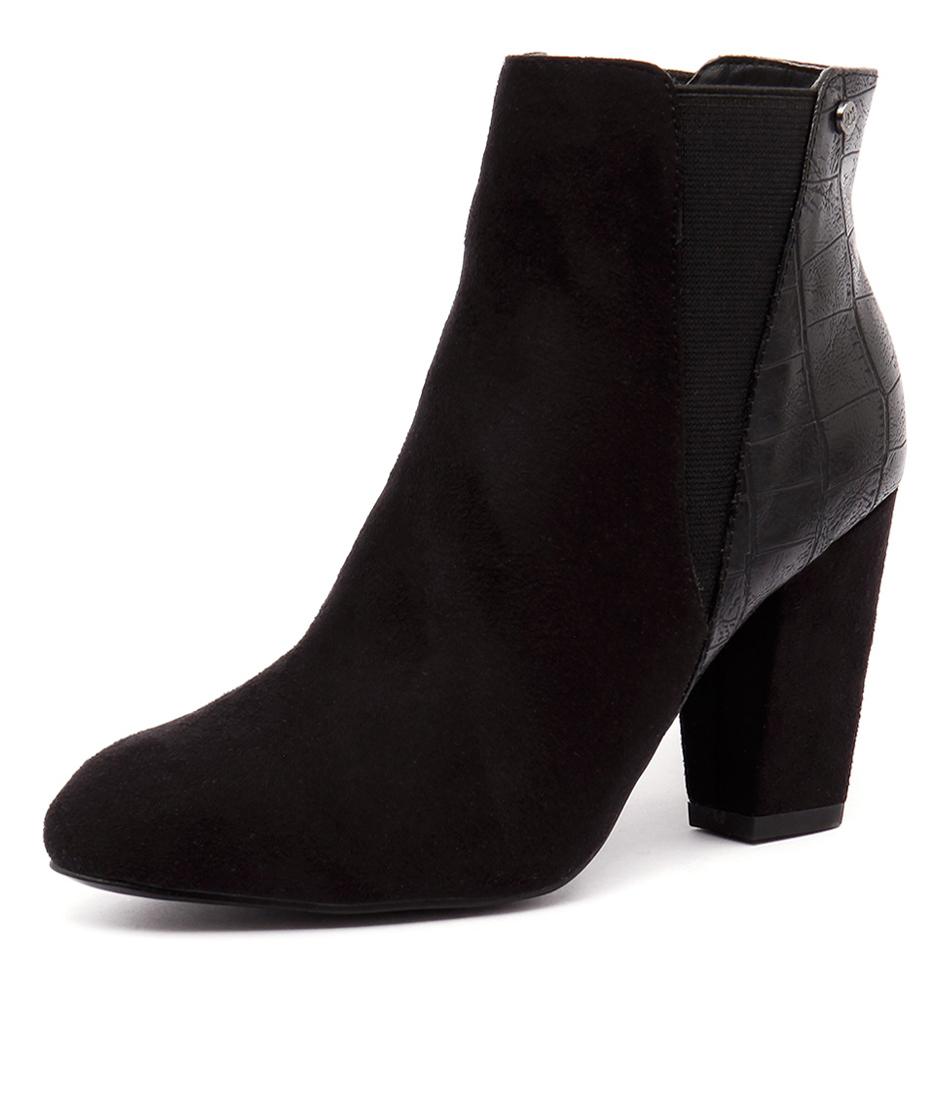 Verali Aviator Black Boots
