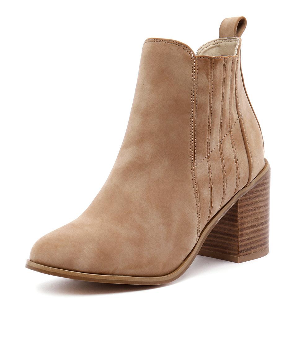 Verali Gigi Sand Distressed Boots