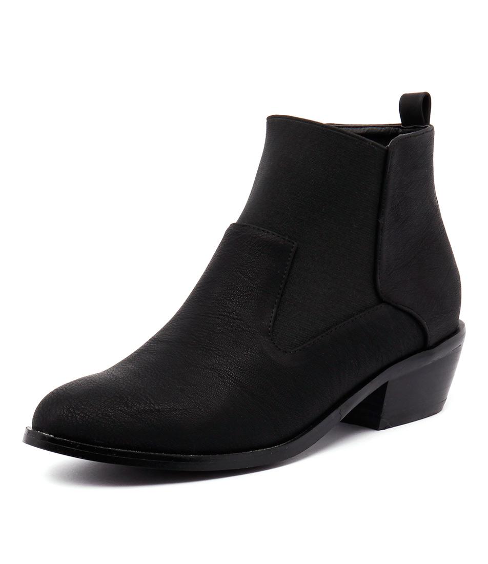Verali Imogen Black Boots