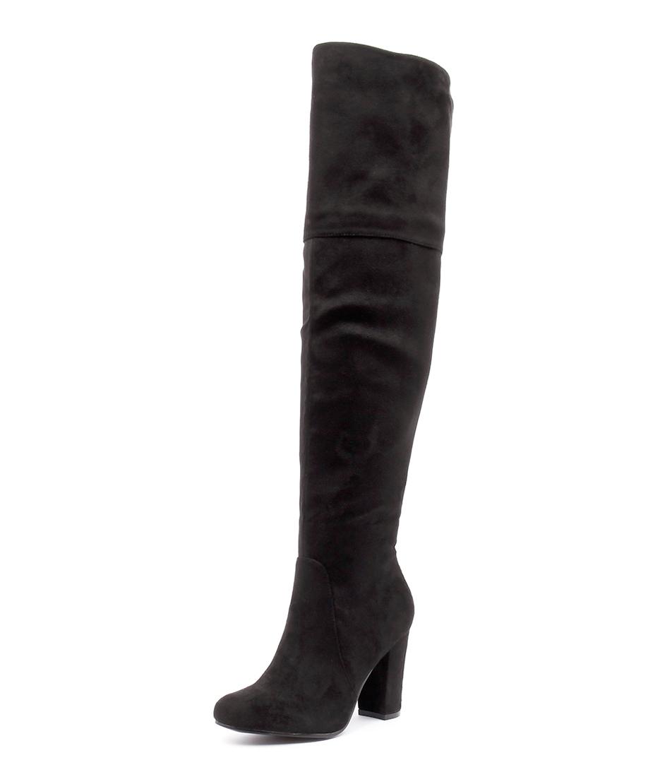 Verali Steve Black Micro Boots
