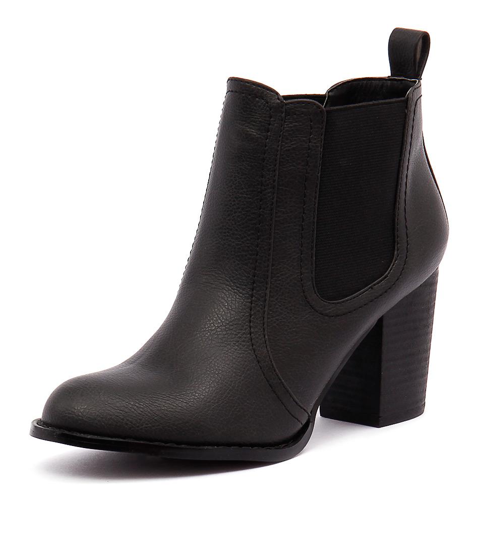Verali Gia Black Vintage Boots