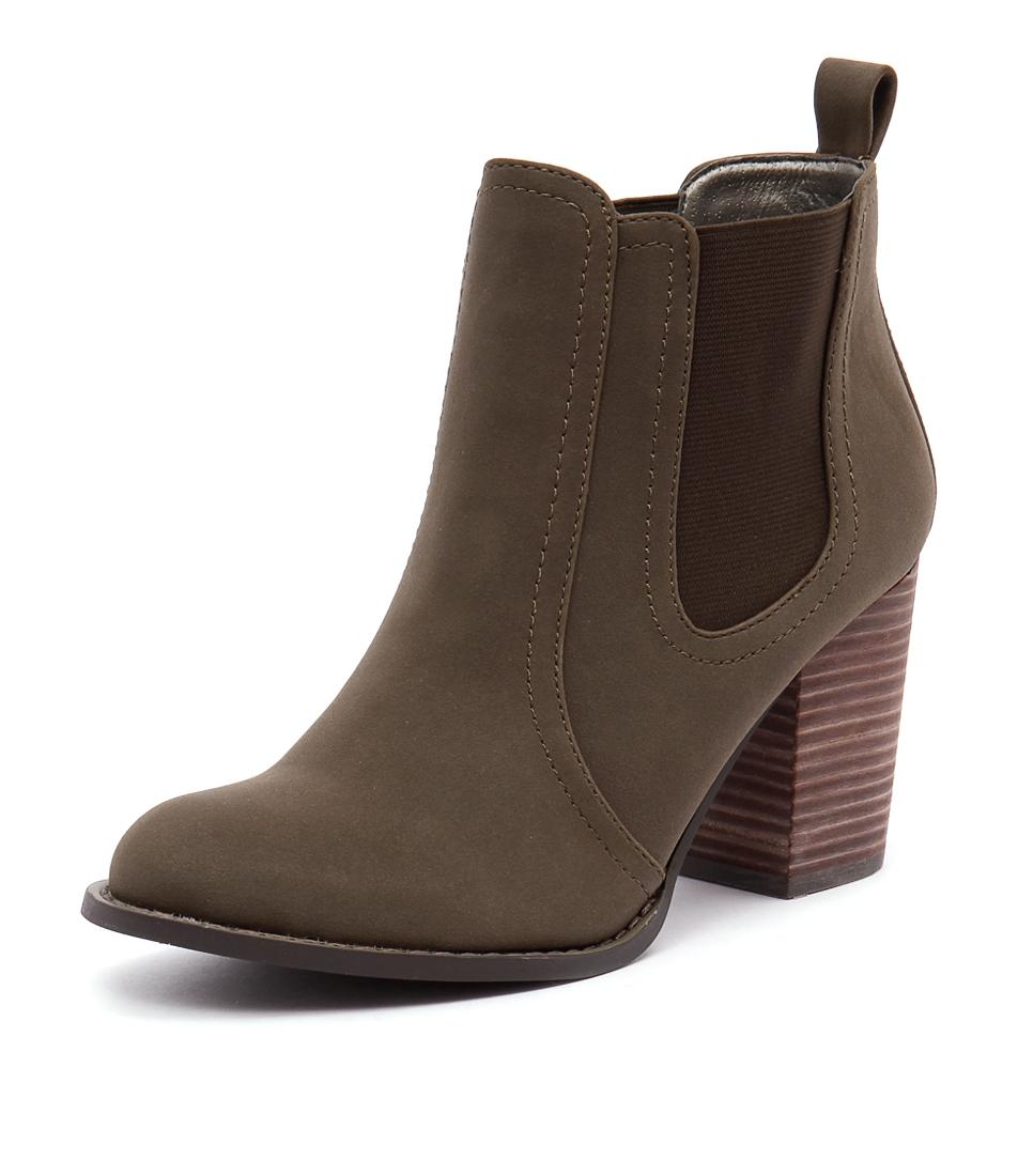 Verali Gia Khaki Boots